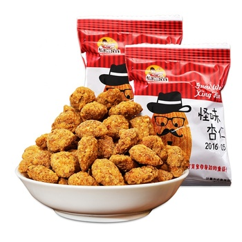 Chinese Hot Food 75g Crispy and delicious almond kernels nuts Snacks