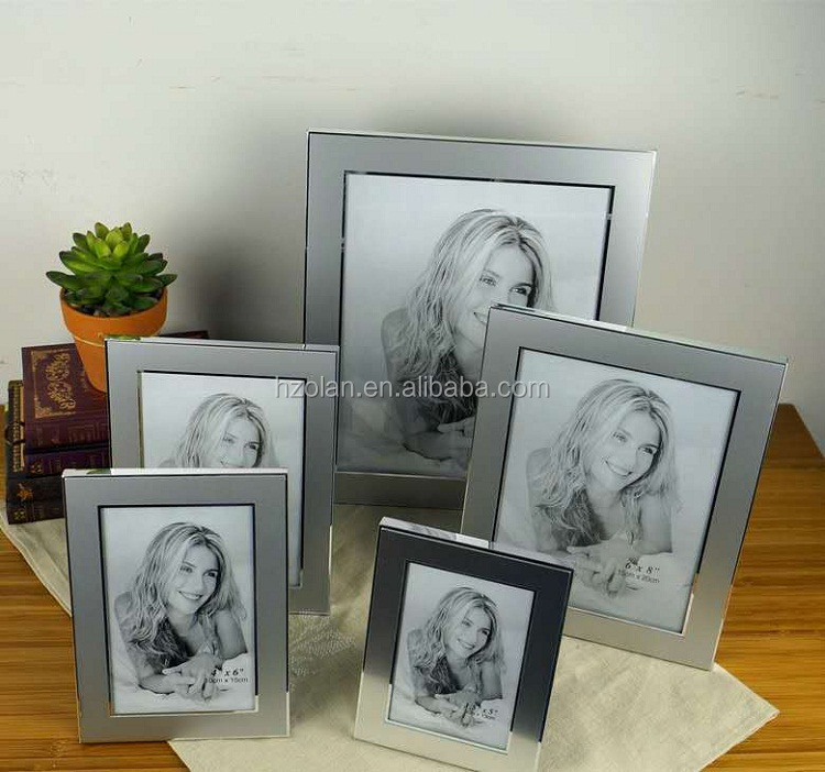 Simple Design Metal Customized Picture Frame Photo Display Frame Desktop Frame