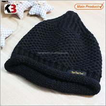 2015 Customized baby knitted pattern crochet baby hat wholesale