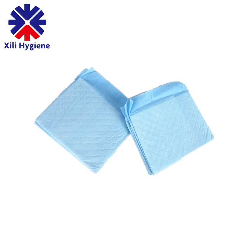 Dog application training urine absorbent pet pad