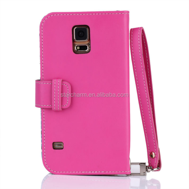 For Samsung Galaxy S5 case wallet