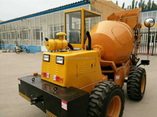 0.5cbm Self Loading Mobile Small Concrete Mixer With Pump for sale