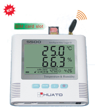 GPRS temperature data logger