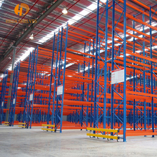 Heavy duty double side warehouse metal storage pipe rack system