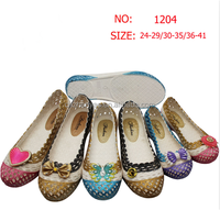 cheap wholesale bow flower lbreathe PCU sandals shoes women jelly shoes