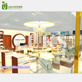 2017 Top end retail jewelry shop interior furniture design with jewelry display stand on sale