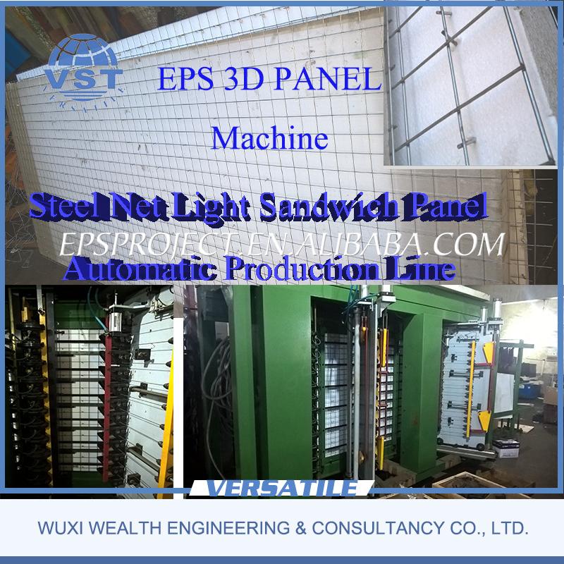 Eps 3d Panel : Eps d panel sandwich production line buy