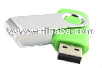 Swivel USB Pen Drive - Cenderamata Annual Dinner With Logo Printing