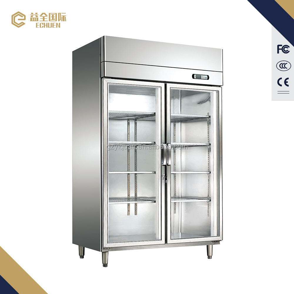 luxurious convienet straight cooling Vertical refrigerator , quick cooling low energy deli counter