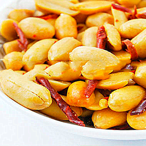 sour spicy flavor coated peanuts