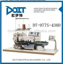 DT-977S-438D Button Feeder with 438D buttonhole sewing machine