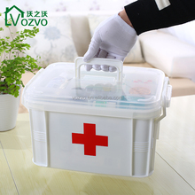 Family Medicine Cabinets Household Medical Box Empty First Aid Kit Plastic Storage Pill Cases