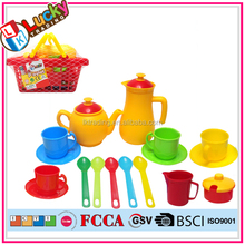 Wholesale plastic tea set toys for kids