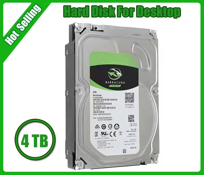 Brand new second hand hard disk drives 3.5inch 4TB internal hard drive for Desktop