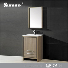 Wholesale cheap High gloss black and white painting bathroom cabinet /bathroom furniture