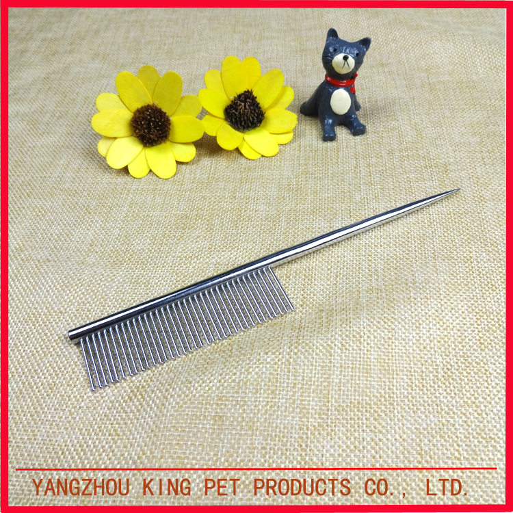 High end durable metal pet hair brush groom comb product dog