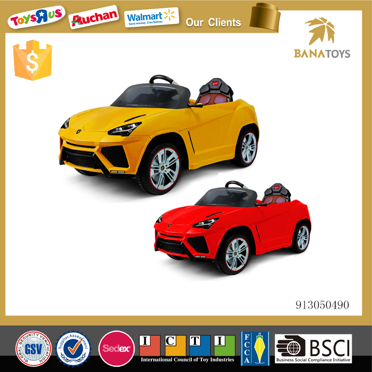 RC ride on toy children electric car