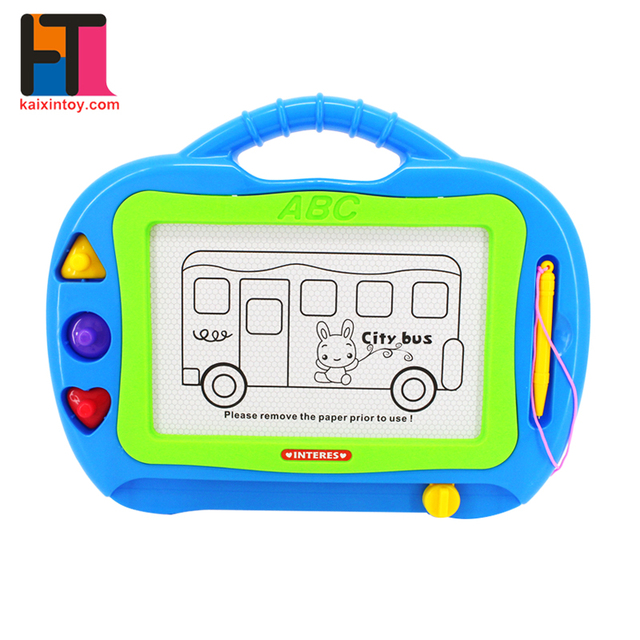oem factory china learning tools kids magnetic drawing board of different types