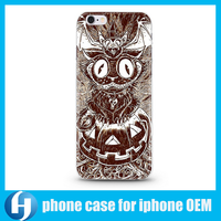 Wholesale OEM Halloween Decorative Custom Design Mobile Phone Cover Case for Samsung and iphone