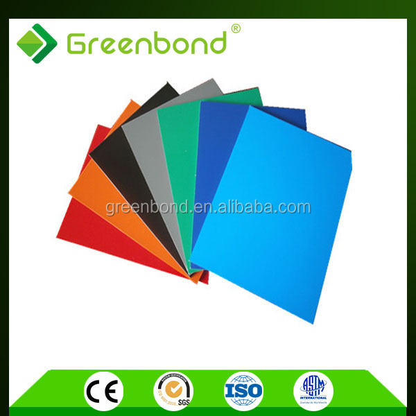 Greenbond insulated aluminum panels for roof decoration materials with long term guarantee