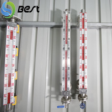 Safe and reliable oil processing floating ball liquid level indicator