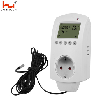 220V plug in thermostat with external sensor ,IR panel temperature controller