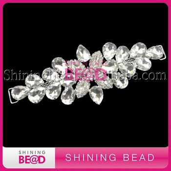 Wholesale clear rhinestone swimwear accessories rhinestone bikini connector