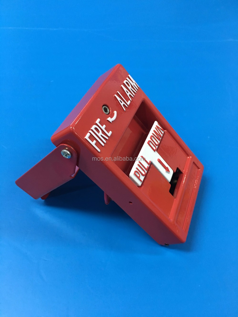 Steel Fire Alarm Control Panel Manual Dual Action Pull Station with Push Bar