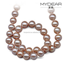 Adorable freshwater pearl necklace/ China factory supply charm necklace