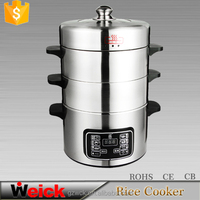 3.5L/4.5L multifunction cooker mircocomputer stainless steel electric steamer