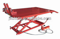 1500LB Air Hydraulic Motorcycle Lift Table Foot Releasing Pump