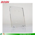 Beautiful and clear acrylic freestanding picture frame