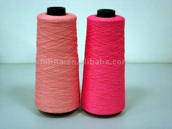 viscose and nylon blend yarn