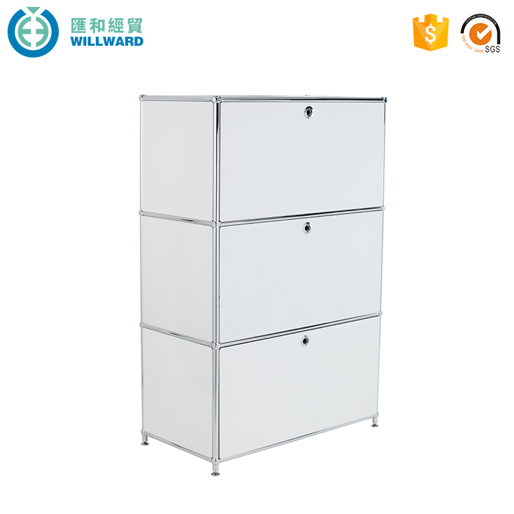Latest desgin locking office storage furniture modular filing cabinet
