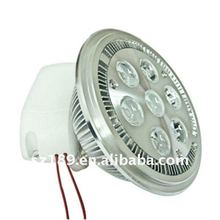 ar111 led light 7*1W/7*2W g53 with cree xpe