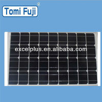 Hot Sale! PV power system 80W photovoltaic mono solar panel