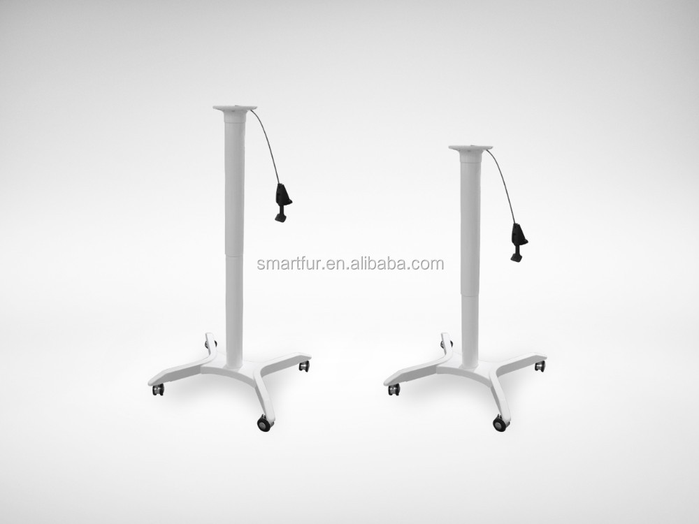 Hot sale office gas lift height adjustable office desk frame