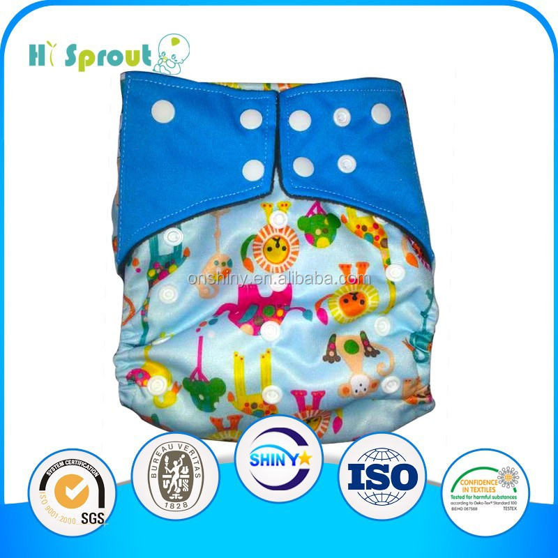 2015 new style Customer OEM Cloth baby diaper manufacturers in china
