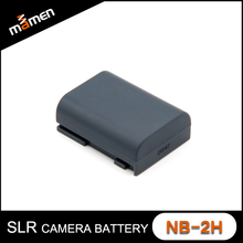 Factory Cheapest NB-2H Digital Battery 1000 mAh 7.4V Rechargeable Camera Lithium Battery For Canon