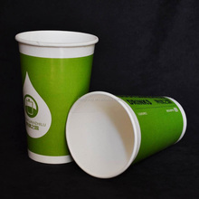 China Wholesale Factory Logo Print Custom Disposable Paper Coffee Tea Cup
