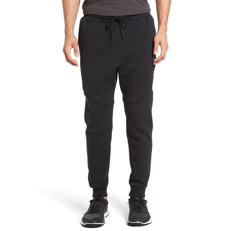 2016 Hot sale mens casual fashion clothing bodybuilding sports skinny jogger pants tapered gym wear plain sweat suits
