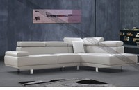 Greece leather L-shape sofa for furniture liviing room591