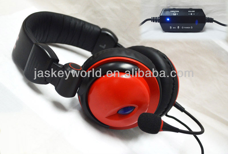 HEP-130 Hot selling surround sound usb gaming headphone with high quality