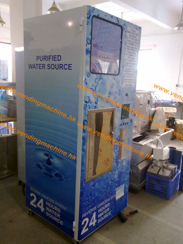 Water Vending Machine with Coin & Bill operator