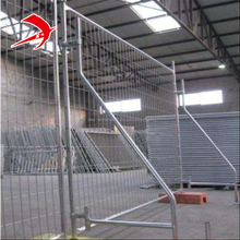 Wholesale removable temporary build fence panel/removable privacy temporary metal security fence