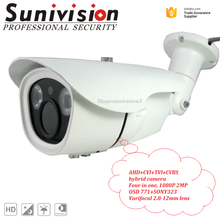 Security Surveillance Ahd 720P 960P 1080P 20m ir distance cctv camera