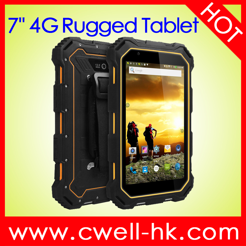 Android Rugged <strong>Tablet</strong> ALPS S933L 7 inch Quad Core 4G LTE 2GB RAM 16GB ROM IP68 waterpoor <strong>Tablet</strong>