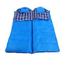 Envelope Double Sleeping Bag with pillows