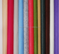 polypropylene or polyester needle punched colored felt fabric for any GSM