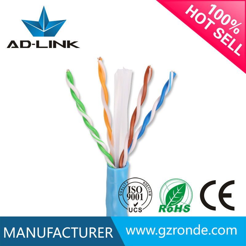 Unshield cat6 lan cable CE certificate